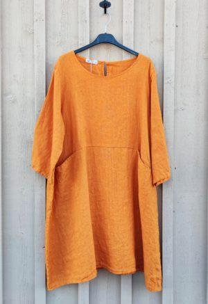pellavatunika oranssi